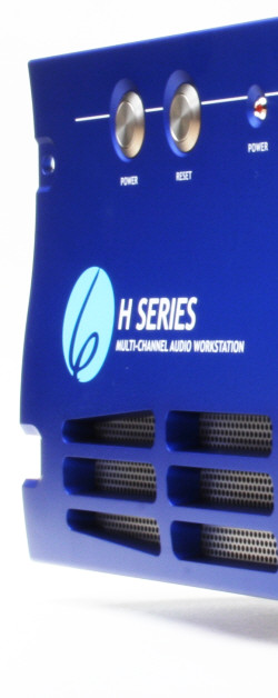 H Series front panel close-up