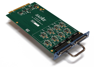 16 Channel AES modular I/O expansion card