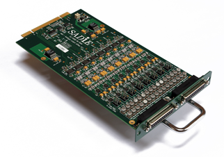 16 channel D/A converter modular I/O expansion card