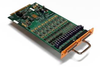 16 Channel mic/line modular I/O expansion card