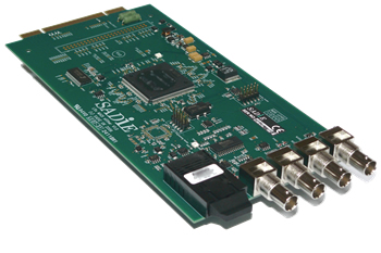 64 Channel LRX MADI modular I/O expansion card
