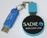 SADiE dongle and USB stick