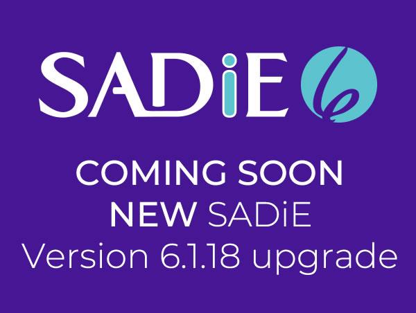 NEW SADiE Version 6.1.18 update